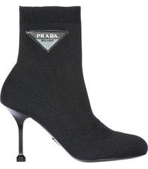 stivaletti stivali donna knit