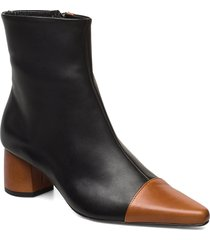 rocket career shoes boots ankle boots ankle boot - heel svart anny nord