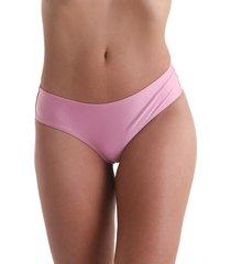 calcinha biquíni avulso anatômica liso - rosa claro - líquido