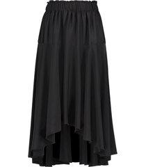 midi-rok savi  zwart
