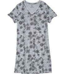 camicia da notte sostenibile in cotone biologico (argento) - bpc bonprix collection
