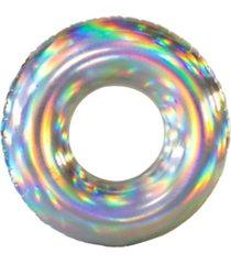 "poolcandy holographic 42"" swimming pool tube"
