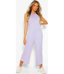 strappy jersey jumpsuit