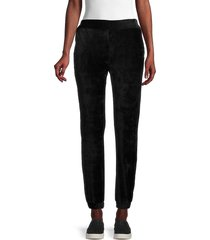 heroes & dreamers women's corduroy jogger pants - black - size xl