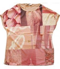 very simple roze blouse shirt