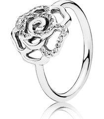 anel rosa brilhante