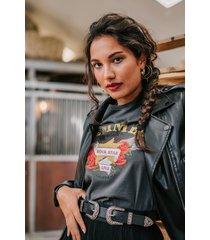 femme9 shirt / top grijs bliss