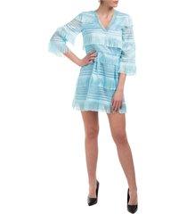 alberta ferretti double question mark mini dress