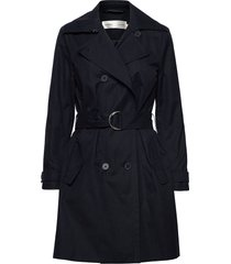 jiaiw trenchcoat trench coat rock blå inwear