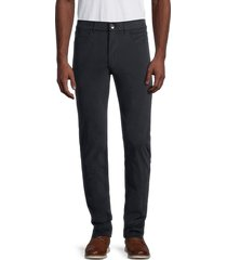 greyson men's armonk five-pocket trousers - forest - size 40 32