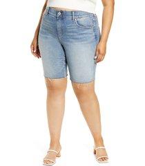 jag jeans valentina high waist cutoff denim shorts, size 24w in virginia beach at nordstrom