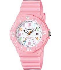 lrw-200h-4b reloj casio 100% original analogo para niñas  garantizados