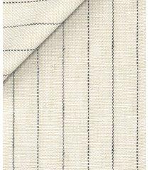giacca da uomo su misura, lanificio subalpino, puro lino beige rigata, primavera estate | lanieri