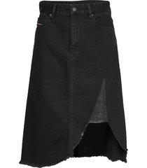 de-sisil skirt knälång kjol svart diesel women