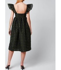 baum und pferdgarten women's ashaki dress - black - eu 40/uk 12