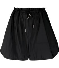 alexander mcqueen drawstring thigh-length shorts