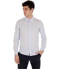 shirt jacquard l / s