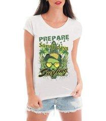 camiseta de renda criativa urbana verão ferias praia surf
