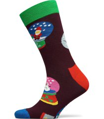 snow globe sock underwear socks regular socks grön happy socks
