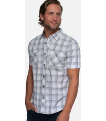 cariloha men's standard fit short-sleeve button down shirt