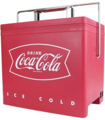 coca-cola retro thermoelectric mini cooler, 4 l