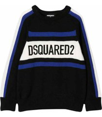 dsquared2 embroidery sweater