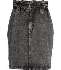 avilinegz skirt kort kjol grå gestuz