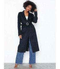 selected femme slflisa handmade coat pin stripe b kappor