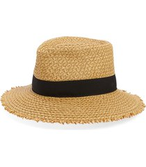 women's eric javits look again packable fedora -