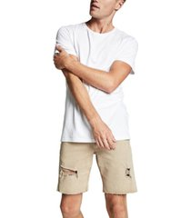 cotton on men's straight stretch denim shorts