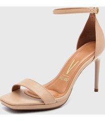 sandalia beige vizzano