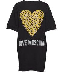 love moschino dress kort klänning svart love moschino