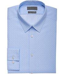 calvin klein blue ice slim fit dress shirt