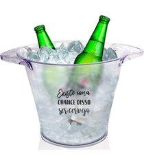 balde de gelo personalizado para live - tema cerveja