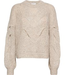 antico cable sweater stickad tröja beige designers, remix