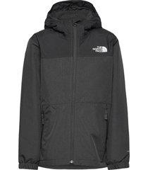 b warm storm rain jacket outerwear rainwear jackets grijs the north face