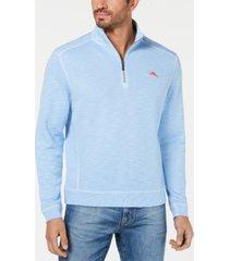 tommy bahama men's tobago bay half zip sweatshirt