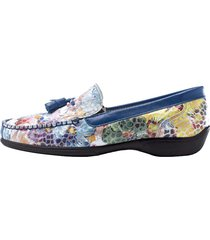 loafers naturläufer blå::flerfärgad