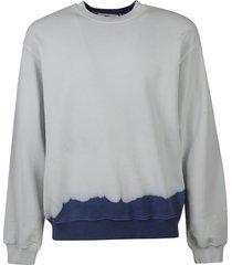 msgm back logo sweatshirt