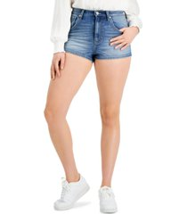 kendall + kylie juniors' high-rise jean shorts