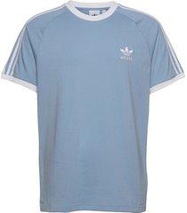 adicolor classics 3-stripes tee t-shirts short-sleeved blå adidas originals