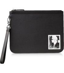 karl lagerfeld designer handbags, karl legend essential clutch