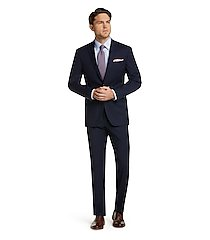 1905 collection slim fit windowpane men's suit clearance by jos. a. bank