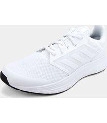 tenis running blanco adidas performance galaxy 5