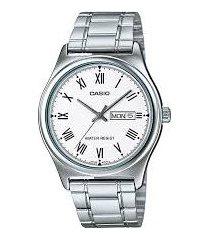reloj casio hombre mtp-v006d-7b acero inoxidable - gris