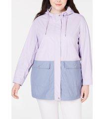 levi's plus size swing rain parka jacket