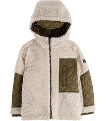 il gufo reversible nylon coat