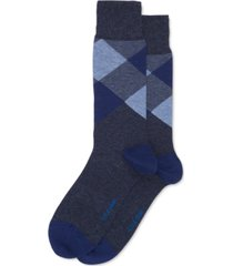 cole haan men's check dress socks