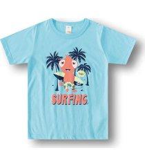 camiseta marisol play - 11207502i azul - azul - menino - dafiti