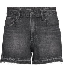 3301 high boyfriend rp short wmn shorts denim shorts svart g-star raw
